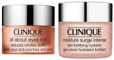 Moisture Surge Intense Skin Fortifying Hydrator & All About Eyes Rich Set