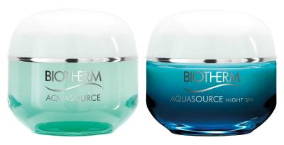 Aquasource Creme N-Mischhaut & Night Spa