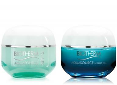 Aquasource Air Cream SPF15 & Night Spa
