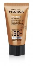 UV-Bronze SPF 50+ Face Anti-Ageing Sonnenlotion