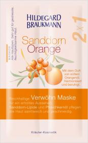 Sanddorn Orange Verwöhn Maske (12Sachets)